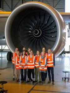 Työterveyshuollon erikoislääkärikoulutuksessa pääsi tutustumaan muiden muassa Airbusiin työskentely-ympäristönä