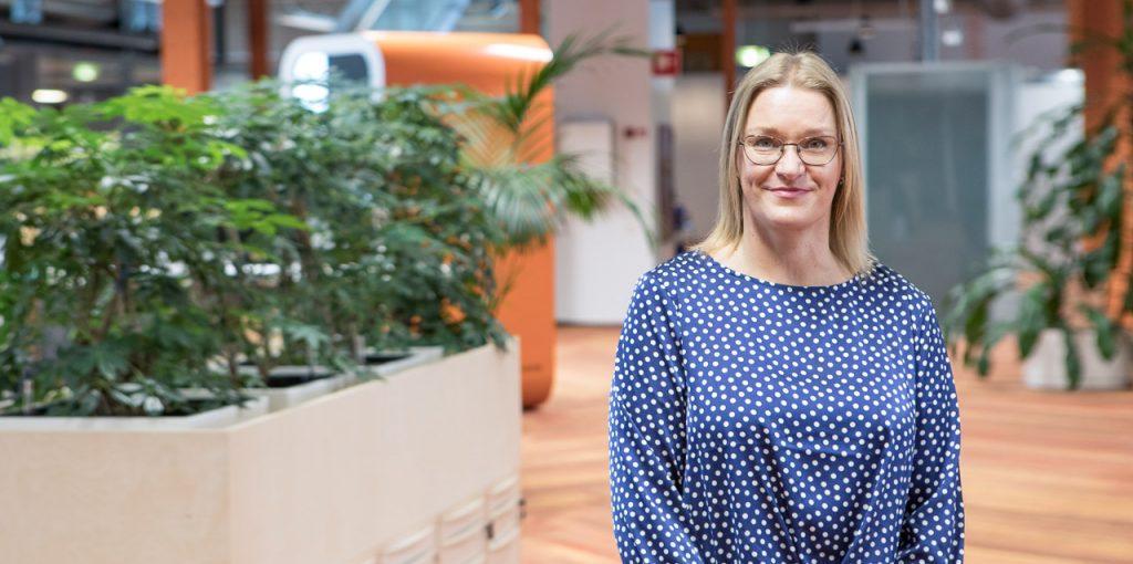 Alma Media HR-manageri Merja Ristilä