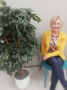 Koordinoiva työterveyshoitaja Heidi Lehtonen
